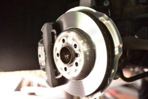 Bremsscheibe und Sattel