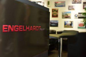 Monitor mit Logo Engelhardt