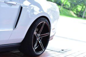Felge Mustang hochglanz