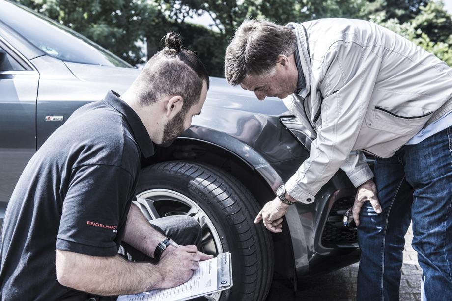 Bremsenservice und Beratung am Reifen
