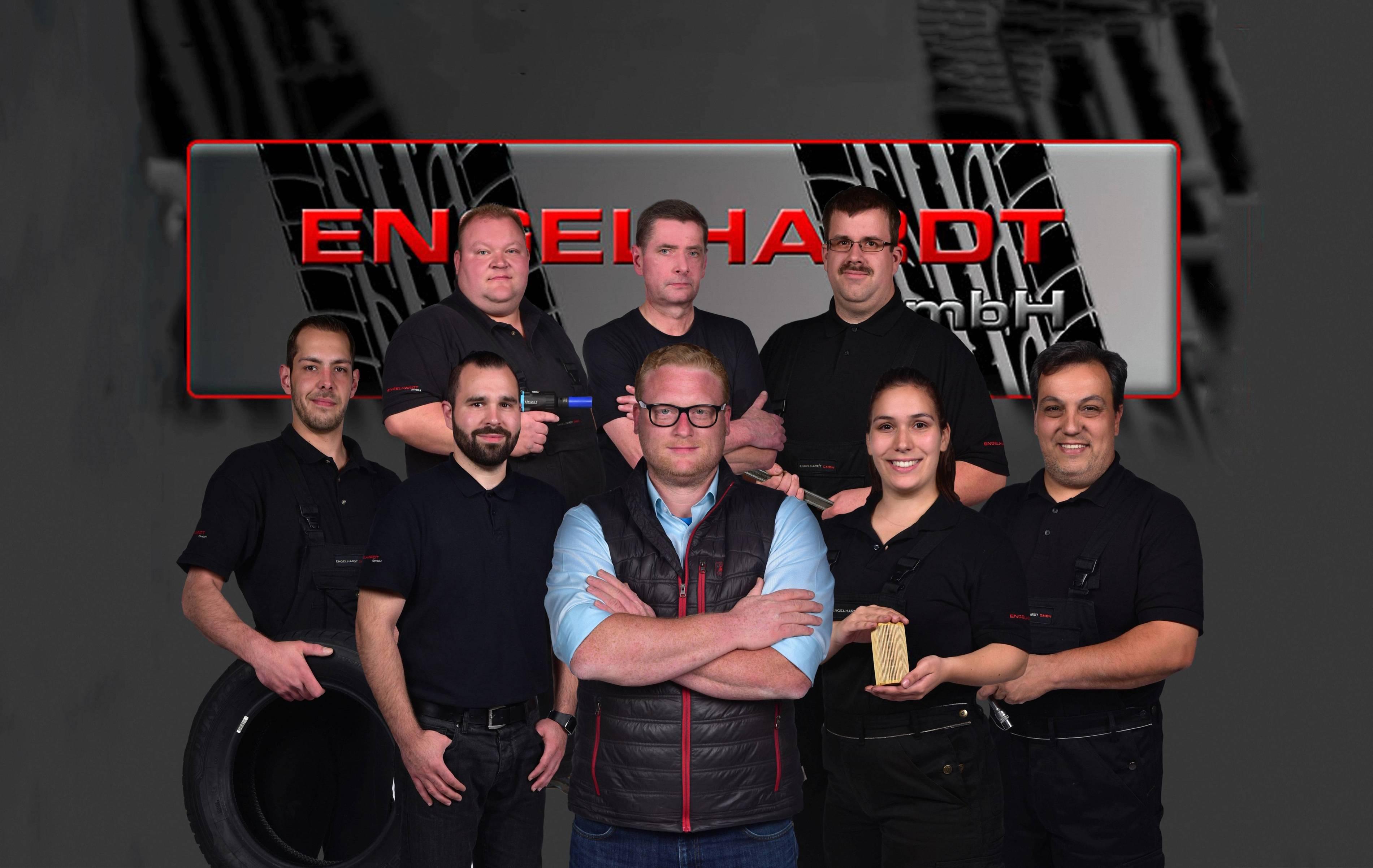 Gruppenbild Team Engelhardt in Essen